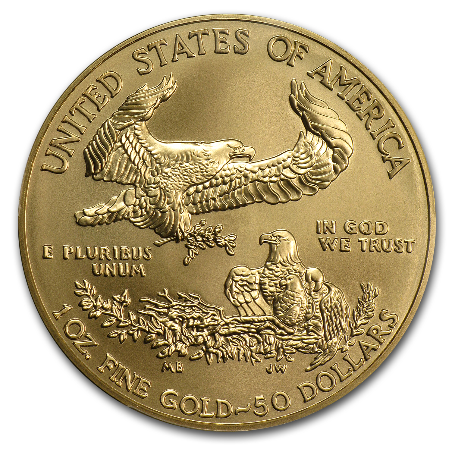 2012-W 1 oz Burnished Gold American Eagle MS-70 PCGS (FS)